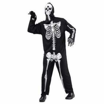 Skelet Voor Halloween.Foute Halloween Horror Skelet Party Kleding Voor Volwassenen