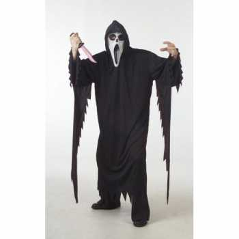 Foute halloween scream party kleding grote maat
