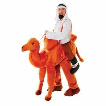 Foute hang party kleding kameel voor volwassenen