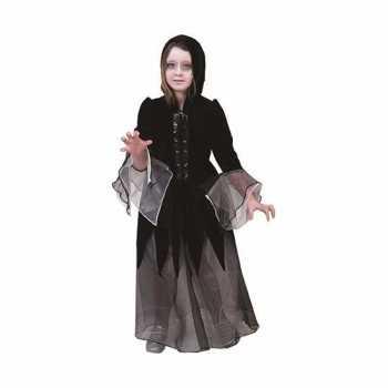 Foute heksen party kleding jurkje zwart