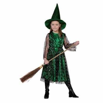Foute heksenjurk met hoed voor kinderen party