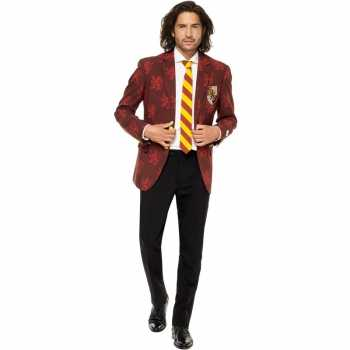 Foute heren pak/party kleding harry potter gryffindor