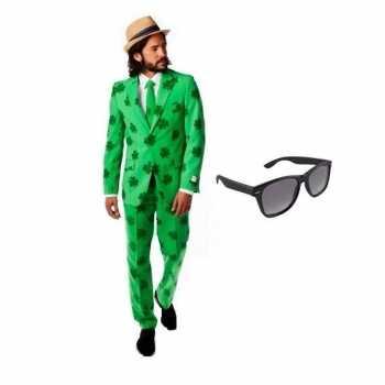 Foute heren party kleding sint patricks day maat 54 (2xl) met gratis