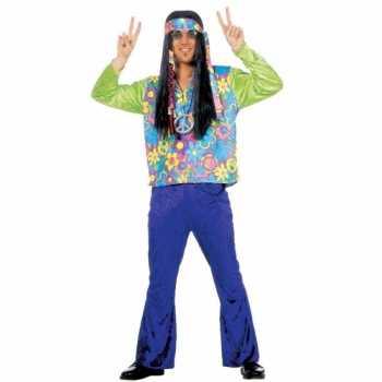 Foute hippie party kleding voor heren