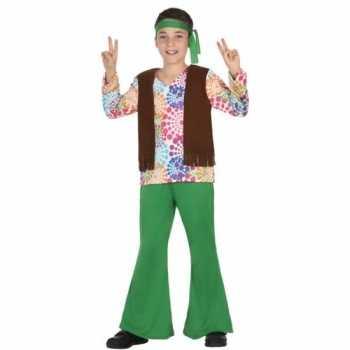 Foute hippie party kleding voor kinderen