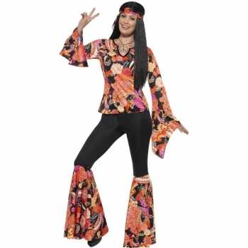 Foute hippie party kleding willow voor dames