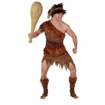 Foute holbewoner/caveman atouk party kleding heren