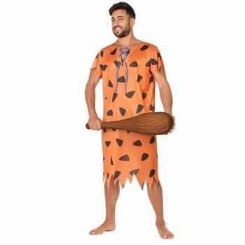 Foute holbewoner/caveman fred party kleding voor heren