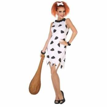 f63e9417ebf9aa Foute holbewoonster cavewoman wilma party kleding jurk voor dames ...