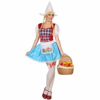 Foute hollands meisje party kleding 3 delig voor dames