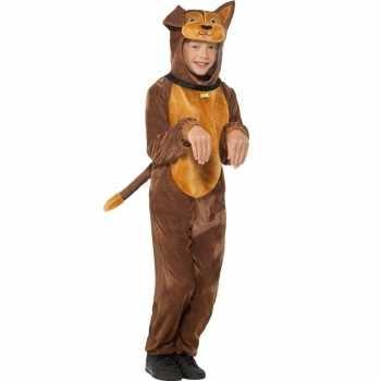 Foute hond onesie dierenpak party kleding voor kinderen