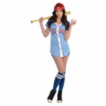 Foute honkballer party kleding voor dames