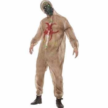 Foute horror biohazard zombie party kleding