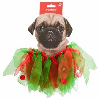 Foute huisdieren kerstparty kleding kerstelf pakje voor honden