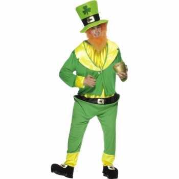 Foute ierse dwerg party kleding groen