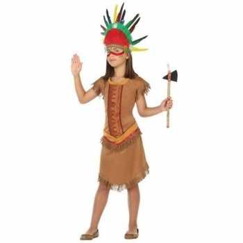 Foute indiaan/indianen jurk/jurkje party kleding voor meisjes