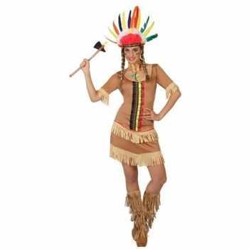 Foute indianen manipi jurkje/party kleding voor dames