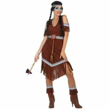 Foute indianen nahele pak/party kleding voor dames