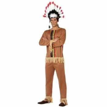 Foute indianen pallaton pak/party kleding voor heren