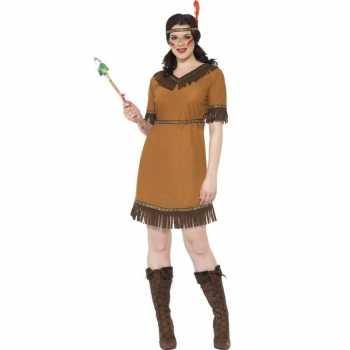 Foute indianen party kleding jurk voor dames