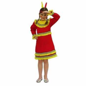 Foute indianen party kleding voor meiden