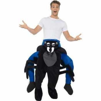 Foute instap dierenpak party kleding spin voor volwassenen