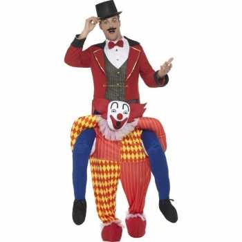 Foute instapparty kleding circus clown voor volwassenen