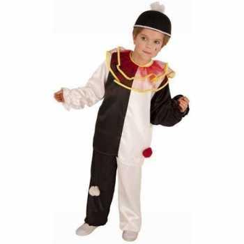 Foute italiaans clown party kleding voor kinderen