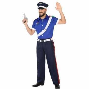 Foute italiaanse politie pak/party kleding voor volwassenen