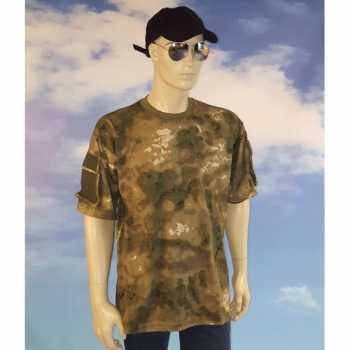Foute jagers camouflage t-shirt party