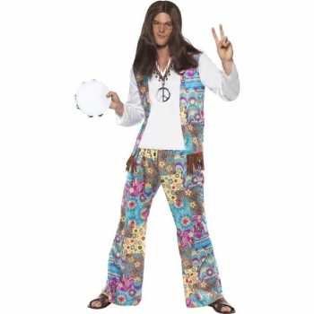 Foute jaren 60 hippie party kleding groovy voor heren