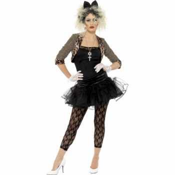 Foute jaren 80 party kleding met petticoat