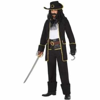 Foute kapitein piraat thomas pak/party kleding voor heren