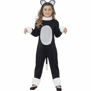 Foute katten/poezen party kleding voor kinderen