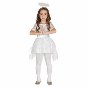 Foute kerst engel raziel party kleding/jurk voor meisjes