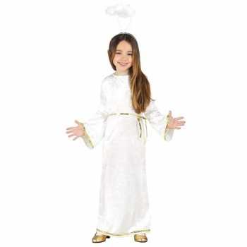 Foute kerst engel sariel party kleding/jurk voor meisjes