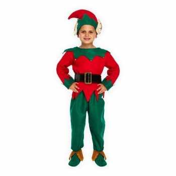 Foute kerstelf party kleding voor kinderen