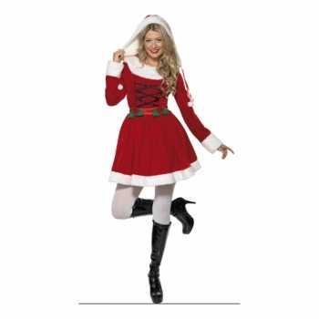 96c123d6dadf54 Foute kerstjurkje rood voor dames party