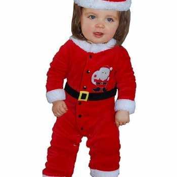 Foute kerstman party kleding voor babies