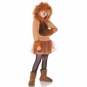 Foute kinder party kleding leeuw
