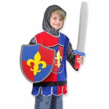 Foute kinder party kleding ridder