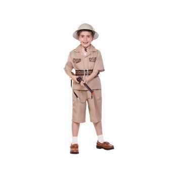 Foute kinder party kleding safari
