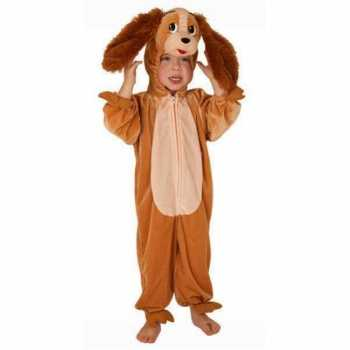 Foute kinder pluche honden party kleding