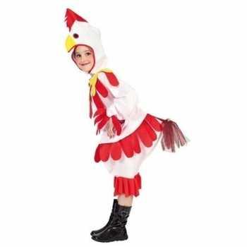 Foute kip/haan party kleding voor kinderen