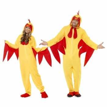 Foute kip party kleding voor volwassenen