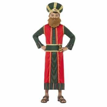 Foute koning caspar party kleding voor jongens 3 koningen kerst party