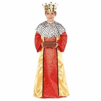 Foute koning melchior party kleding voor jongens 3 koningen kerst par