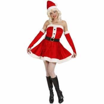 Foute kort dames kerstjurkje party