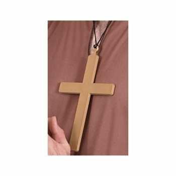 Foute kruis van een priester 22 cm party