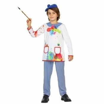Foute kunstschilder party kleding picassio voor kinderen